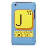 J JENNIFER'S PHONE  iPod Touch Cases