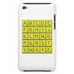 ABCDE FGHIJ KLMNO PQRST VWXYZ  iPod Touch Cases