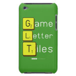Game Letter Tiles  iPod Touch Cases
