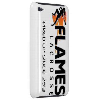 iPod Touch Flames Lacrosse Case