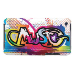 Ipod Touch Music Case at Zazzle
