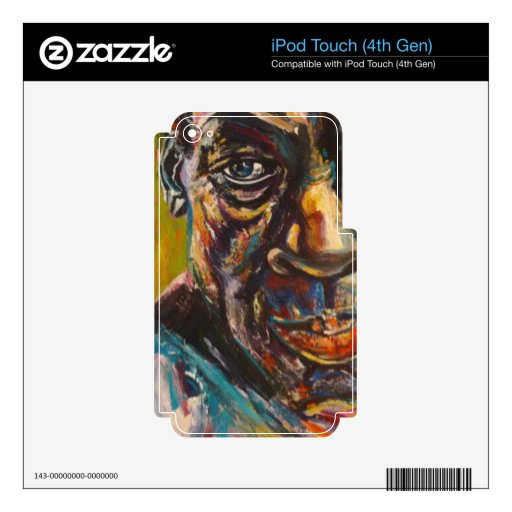 iPod Touch skin by Tania Elizabeth
