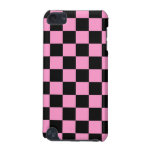 iPod Touch Speck Case Pink and Black Checker iPod Touch 5G Cases
