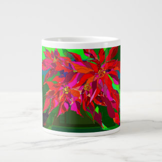 iPoinsettia Giant Coffee Mug