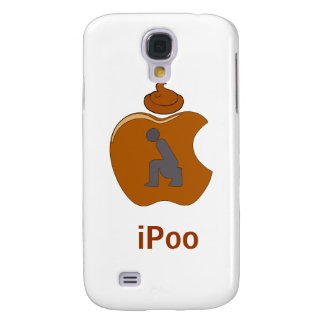 iPoo - Funny iPhone Cases (white)