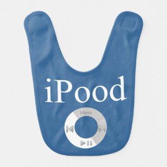 iPood Baby Humor Baby Bibs