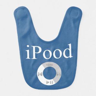 iPood Baby Humor Baby Bib