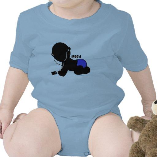 iPOOD_blue Trajes De Bebé