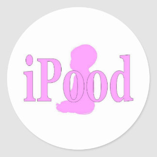 ipood girls stickers