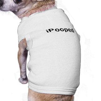 iPooped Dog Clothing