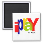 ipraY 2 Inch Square Magnet