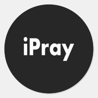 iPRAY Classic Round Sticker