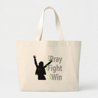 iPray. iFight. iWin. Canvas Bag