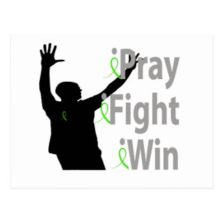 iPray. iFight. iWin. Male Postcard
