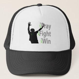 iPray. iFight. iWin. Male Trucker Hat