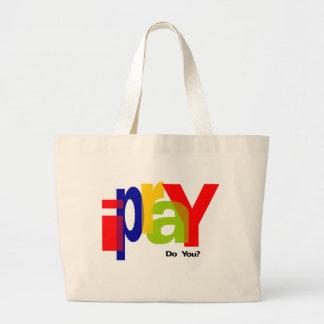 ipraY Large Tote Bag