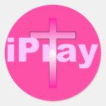 iPray Pegatina Redonda