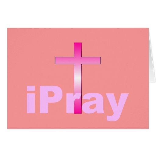 iPray Tarjeta De Felicitación