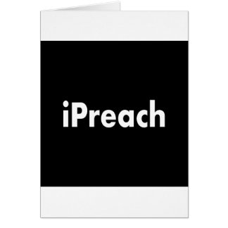 iPreach Greeting Card