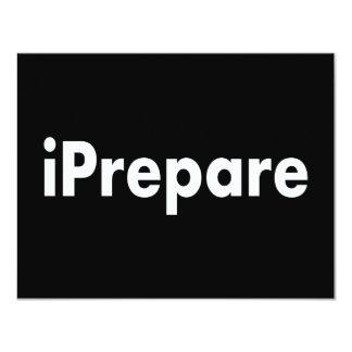 iPrepare Card