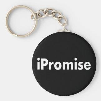 iPromise Basic Round Button Keychain