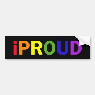 iProud Car Bumper Sticker