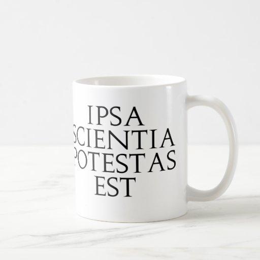 Ipsa Scientia Potestas Est Mug