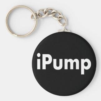 iPump Basic Round Button Keychain