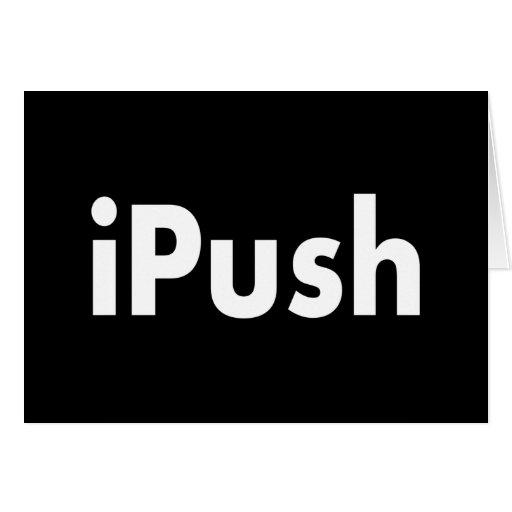 iPush Tarjeta De Felicitación