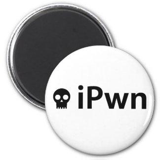ipwnblk 2 inch round magnet