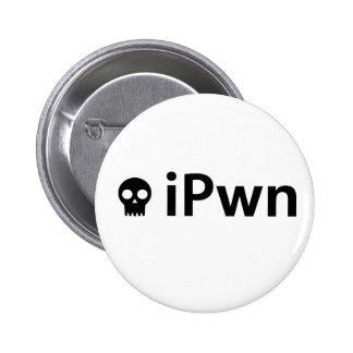ipwnblk pin redondo de 2 pulgadas