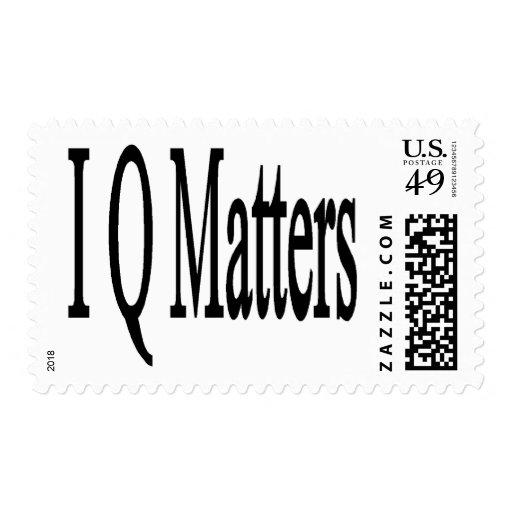 IQ Matters Stamp