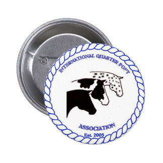 IQPA Quarter Pony Registry Gifts Pinback Button