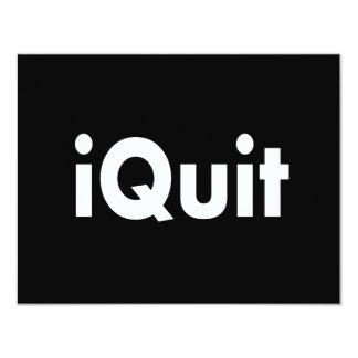 iQUIT  I Quit Card