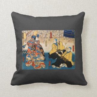 Ir de discotecas-ji de Utagawa Kunisada- Kyo-ganok Cojines