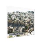 Ir Dovid - la ciudad de David Impresión En Lona Estirada