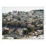 Ir Dovid, la ciudad de David, parte posterior: El Tarjetas