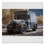 IR Old Truck Poster