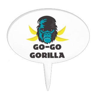 Ir-Va el gorila Figura Para Tarta