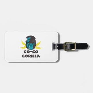 Ir-Va el gorila Etiquetas Maletas