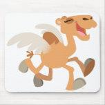 Ir volando-Camello lindo Mousepad del dibujo anima Alfombrillas De Raton