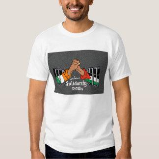IRA PLO solidarity pow mural t-shirt