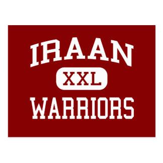 Iraan - Warriors - Junior - Iraan Texas Postcard