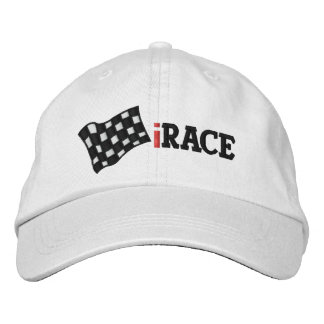 iRACE Embroidered Baseball Hat