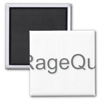 iRageQuit Rage Quitting Gamer 2 Inch Square Magnet