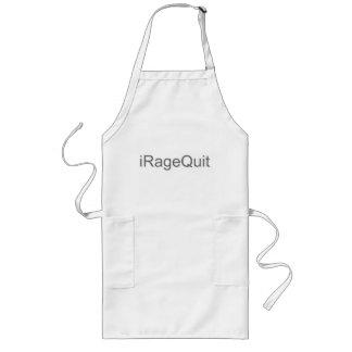 iRageQuit Rage Quitting Gamer Long Apron