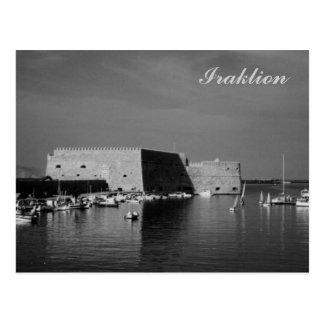 Iraklion Postcard