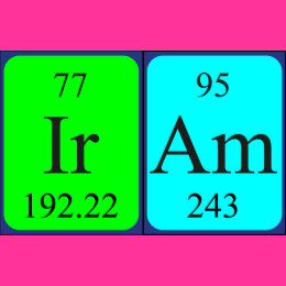 Name iram accessories zazzle iram periodic table name keyring iram periodic table name keyring urtaz Gallery