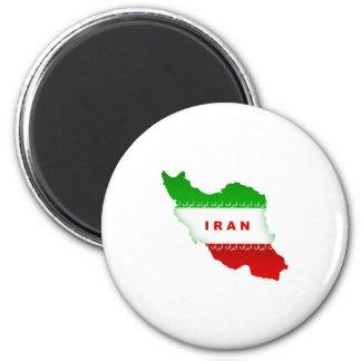 Iran 2 Inch Round Magnet