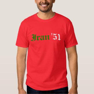 Irán '51 camisas